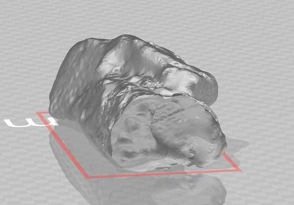 Modelo 3D de túnel colapsado - Hibbard Inshore Brasil