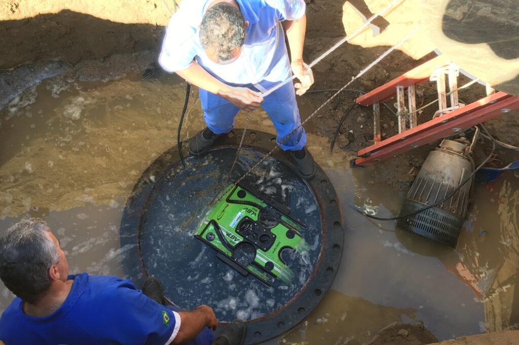 Hibbard Inshore Brasil inspeções subaquáticas com rov