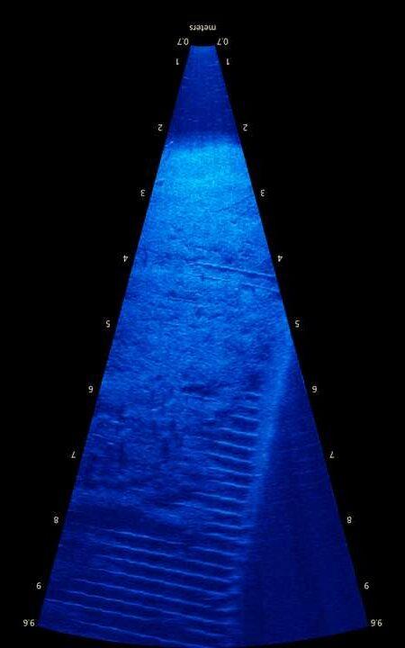 Hibbard Inshore Brasil - Inspeção subaquática observando armadura exposta em laje de concreto