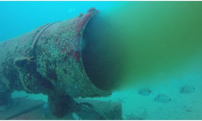 Inspeção ROV Emissários submarinos